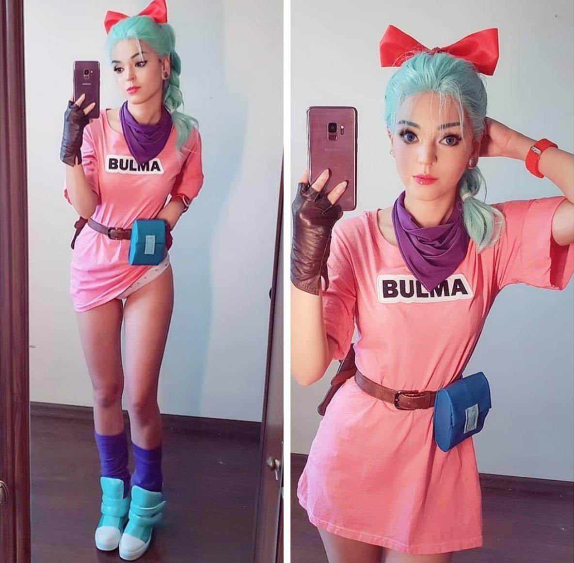 Dragonball Bulma Cosplay