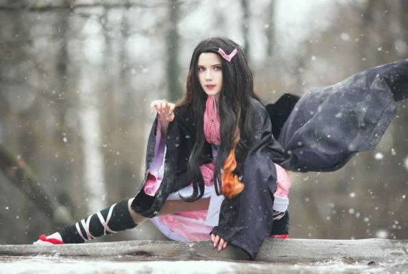 Demon Slayer Nezuko Cosplay - loli_samurai_
