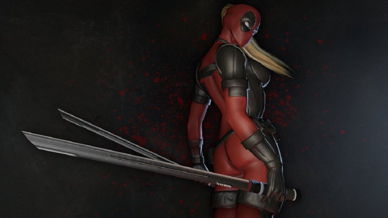 Sexy Lady Deadpool Wallpaper