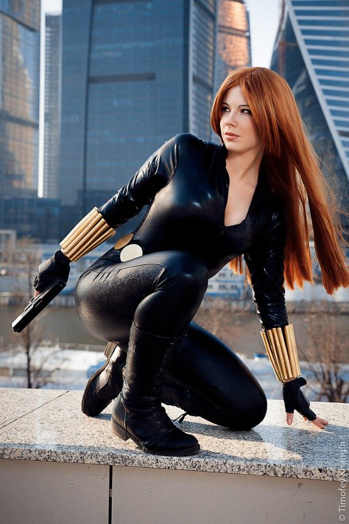Black Widow Cosplay - Anastasya Zelenova