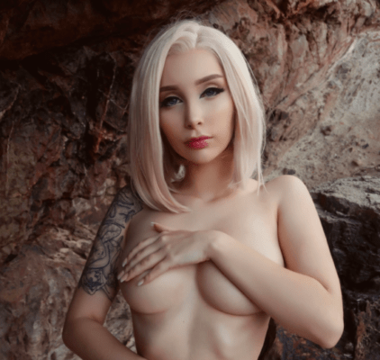 Nude Android 18 Cosplay