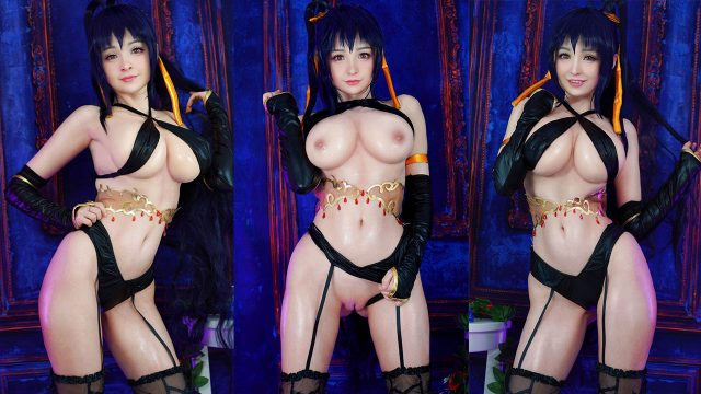 Akeno Cosplay Porn Video