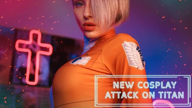 Attack on Titan Cosplay Porn Video